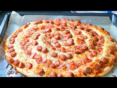 Receta Irresistible De Pizza Enrollada: Te Va Sorprender