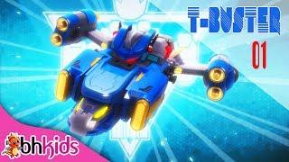 Phim Hoạt Hình Hay - Robot Người Máy TBuster tập 01   Hoạt Hình Vui Nhộn