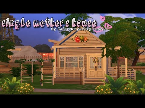 The Sims 4: Дом матери-одиночки    Строительство