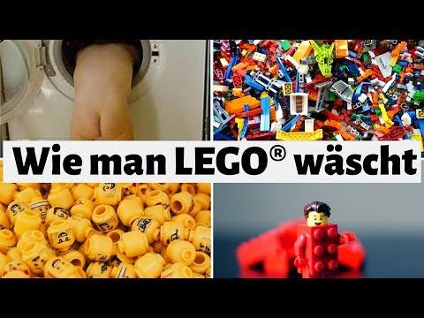 LEGO waschen in der Waschmaschine | How to wash LEGO