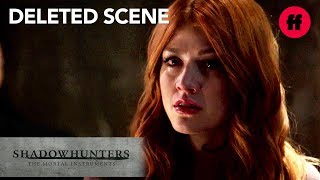 Shadowhunters Season 3, Episode 8 | Deleted Scene: Clary Is Accused Of Murder | Freeform
