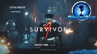 Resident Evil 2 Remake - 4th Survivor Walkthrough (Grim Reaper Trophy / Achievement Guide)