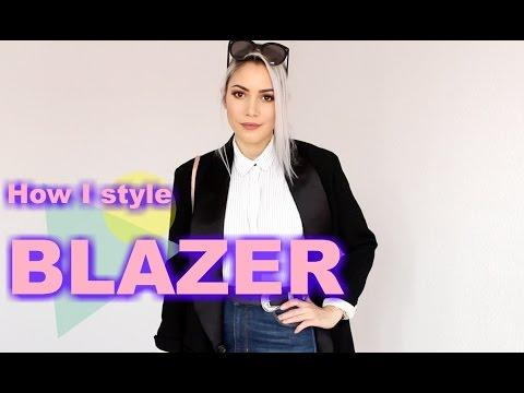 Schwarzer Blazer kombinieren Style Lookbook | funnypilgrim