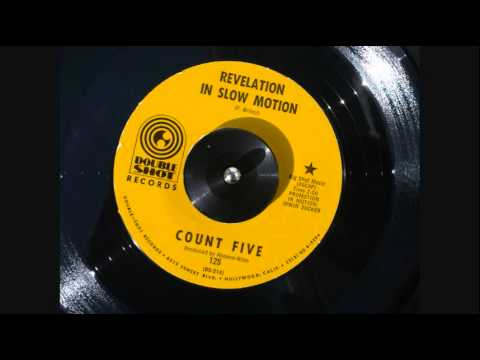 THE COUNT FIVE - Revelation In Slow Motion Rare French PS 7' Garage Psych 68'