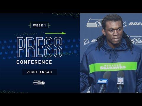 Defensive End Ziggy Ansah Week 1 Press Conference | 2019 Seattle Seahawks