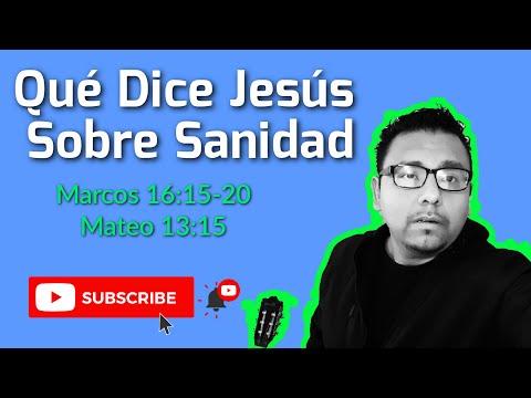 ¿Qué Dice Jesús Sobre Sanidad Divina?