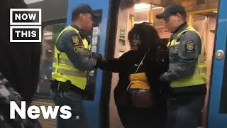 Why a Black Pregnant Woman Was Forced Off This Train | NowThis