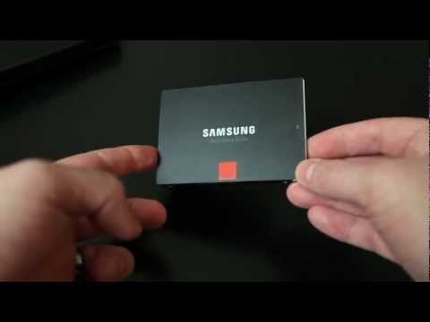 Samsung 840 Series 120GB SSD Unboxing