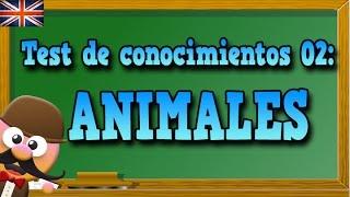 ANIMALES EN INGLÉS - TEST DE CONOCIMIENTOS 02 - APRENDE INGLÉS CON MR PEA ENGLISH FOR KIDS