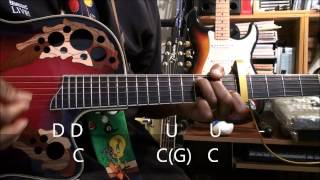 How To Play Strumming Pattern The Duck Song Style  On Guitar EricBlackmonMusicHSKids