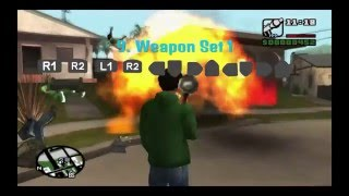 10 FUNNY AND USEFUL Mods/Cheat Codes for GTA San Andreas PS4 HD Gameplay (PS2 Emulation)