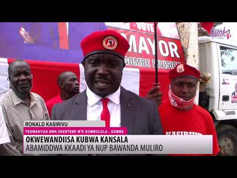 Abamiddwa kkaadi ya NUP bawanda muliro