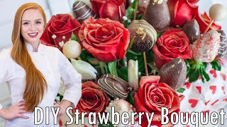 How To Make A Chocolate Strawberry Bouquet