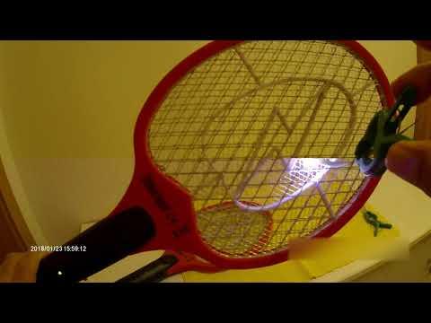 Elektrische Fliegenklatsche mit viel Power