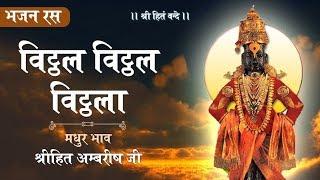 Vitthal Vitthal Vitthala | Shree Vitthal Bhajan | Shree Hita Ambrish Ji