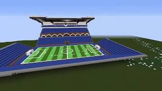 mercedes benz stadium minecraft. Timelapse Minecraft Footbal Stadium - Short Version Mercedes Benz