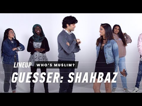 Guess Who's Muslim (Shahbaz) - Lineup