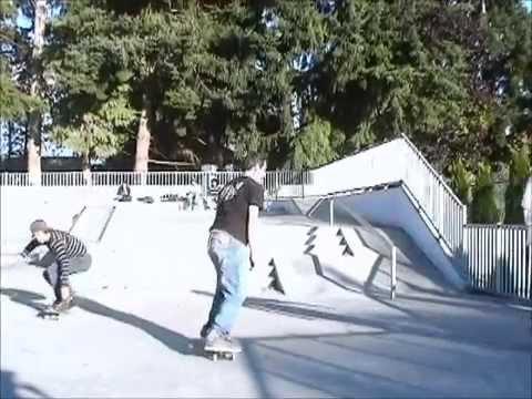Walk in th Park a Marysville skatepark video