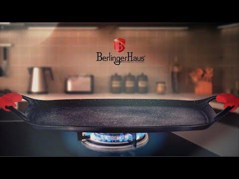 Küpsetusplaat BerlingerHaus Metallic Line Burgundy Edition, 47 cm hind ja info | Ahjuvormid ja küpsetustarvikud | kaup24.ee