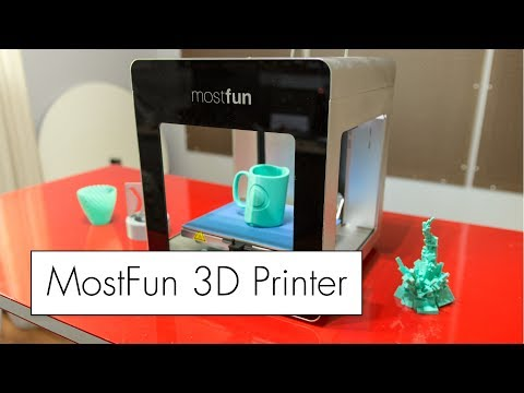 MostFun Pro 3D Printer Review ( SPOILER : NOT the most fun )