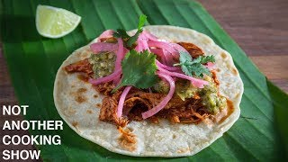 how to make AUTHENTIC COCHINITA PIBIL tacos
