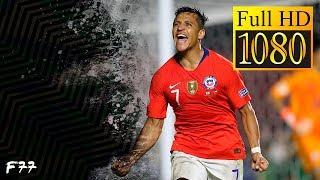 Alexis Sánchez Vs Japón (18/06/19 - Relato Ingles) Copa America 2019 [HD]