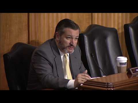 Sen. Cruz Participates in Senate Foreign Relations Committee Review of FY 2020 Budget Request for USAID