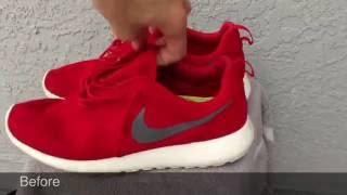 Jason Markk The Best Shoe Cleaner- Test On Roshe And Free Runs