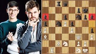 Moment of Truth! || Firouzja vs Carlsen || Tata Steel Masters (2020)