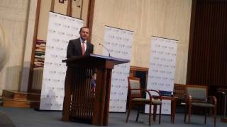 Tom Perriello Intro Remarks at Temple Rodef Shalom (5/21/17)
