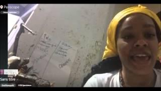 Azealia Banks talks Santería - Full Periscope 04 25 2016