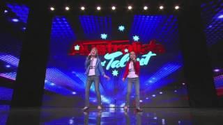 Australia's Got Talent 2013 | Auditions | Natalie & Julia Belt Out A Classic
