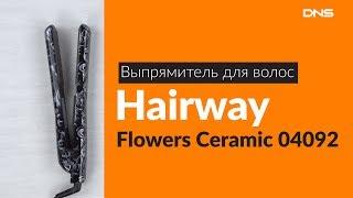 Выпрямитель для волос Hairway Flowers Ceramic