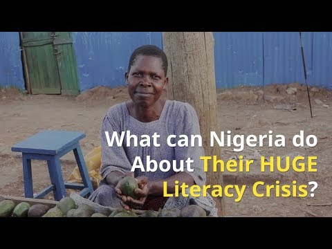 Nigeria Comes Face to Face with a HUGE Literacy Crisis