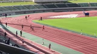 平成30年度山口県体育大会40歳代100m