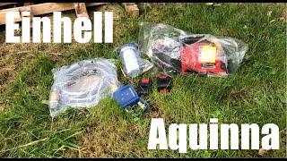 Einhell Aquinna im Test beim Abfischen