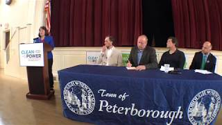 """Congresswoman Kuster in Peterborough on Clean Energy: pipeline """"bad route"""", doesn't ma"""