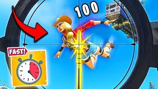 *INSANE* FASTEST SNIPE OF ALL TIME!! - Fortnite Funny Fails and WTF Moments! #796