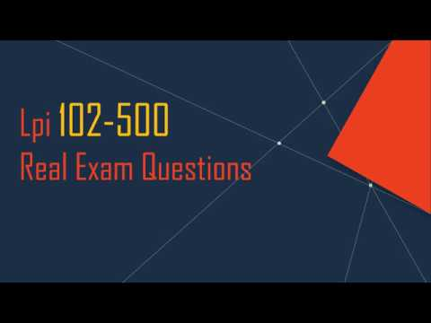 Cracked LPIC-1 102-500 Real Exam Questions - YouTube