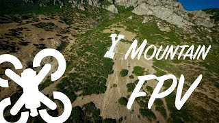 Cinematic Y Mountain FPV