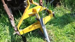 DIY Underground Wire layer/Pipe layer