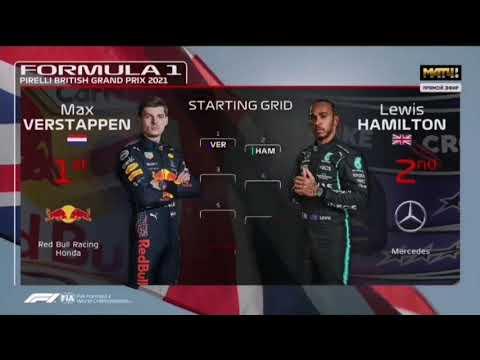 F1 British GP Starting Grid 2021