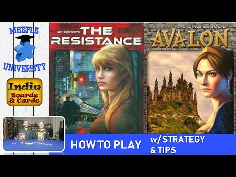 The Resistance & Avalon Board Game – How to Play, Setup, Strategy & Tips