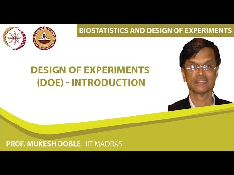 Design of experiments (DOE) - Introduction