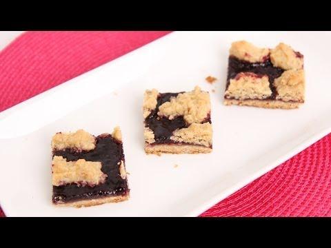 Oat Jam Bars Recipe – Laura Vitale – Laura in the Kitchen Episode 708