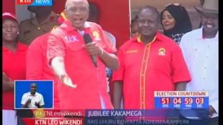 Kampeni za Jubilee Kakamega