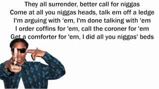 ASAP Rocky JD Lyrics