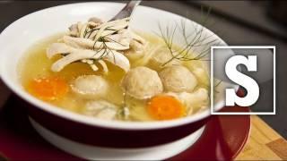 CHICKEN NOODLE SOUP RECIPE ft Matt Lucas – SORTED