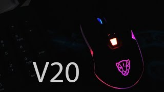 Собрать компьютер - Хорошая мышь Motospeed V20 из GearBest #1