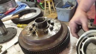 CAT 933C steering clutches and brake replacement part 2 - Most